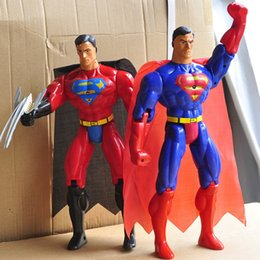 Wholesale 2016 New Styles Batman v Superman PVC Action Figures doll Character Zorro and superman figures Toy cm E513