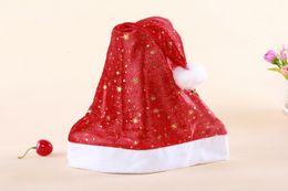 Wholesale Christmas hats Snow Moon Star CM star anise