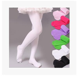 Wholesale Candy Color Leggings baby girls Velvet Pantyhose Dance Stockings Children Ballet Tights baby Velvet Long Socks colors Dhgate Socks