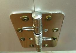 Wholesale 3 inch stainless steel spring Automatic closing hinge automatic gate door stop door closer door hinge