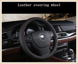 Fashion Sport Style Universal 38cm automobile steering wheel cover suitable for aLL car styling