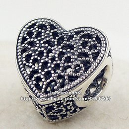 2016 New 925 Sterling Silver Filled with Romance Charm Bead Fits European Pandora Jewelry Bracelets Necklaces & Pendant
