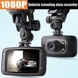 car dvd HD 1080P Car DVR Vehicle Camera Video Recorder Dash Cam G-sensor HDMI GS8000L Car recorder DVR Free shipping
