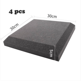 Wholesale Acoustic Foam Curved shape Sound proof Foam in Charcoal color for CM