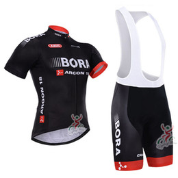 Wholesale-2015 Bora Argon 18 Short Sleeve Cycling Jersey Bicicleta Ropa Ciclismo Outdoor Mountain Bike Jersey + Cycling (Bib) Shorts Kit
