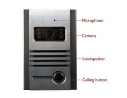Wholesale lovecat SY802MB11 TFT Color Display Wired Video Door Phone Doorbell Intercom Kit