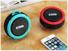 Waterproof Bluetooth Speaker Wireless C6 Mini Portable Super Bass Stereo Subwoofers Music Player Support Hands Free Call TF 1pcs