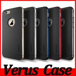 Wholesale Verus DAMDA Hybrid Hard PC TPU Case For iPhone S S Plus iPhone SE S Galaxy S6 Note Cover Bumblebee Logo Hole Armor MOQ