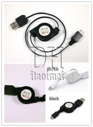 Cargos cables iphone en venta-Cable tensor del cable tensor del cable del estiramiento para la galaxia S3 S4 i9100 de Samsung HTC Iphone 5 6 cable retráctil micro flexible del cargador del USB DHL