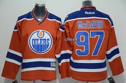 Wholesale 2015 Newest Men s Edmonton Oilers mcdavid orange Ice Hockey Jerseys Best Quality Low Price