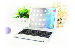 Wholesale Wireless Bluetooth Keyboard Ultrathin Aluminium Alloy Keyboard for iPad Air iPad in silver color NICE P1305