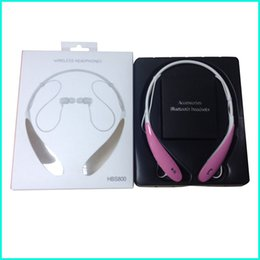 Wholesale Hot selling TONE wireless sports hbs bluetooth HBS stereo earphones Neckband headsets with retail package also have hbs900 in stock