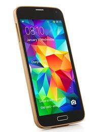 5.0 pulgadas G900H S5 doble núcleo MTK6572 Android 4.2 teléfono celular Dropship de WIFI 3G de doble cámara de 1,3 GHz CUP desbloqueado gratuito desde teléfono celular 3g wcdma fabricantes