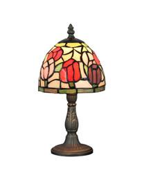 Wholesale EMS Free Ship Tiffany Accent Beside Table Lamps Light Base Fixture Mediterranean Sea Style Bedroom Decor E14 V V