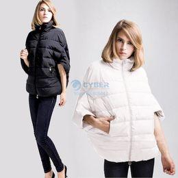 Wholesale Best sale new ladies fashion down coat winter jacket women outerwear Bat sleeve in thick jacket parka overcoat SV10CB029103
