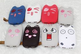 Wholesale Cute cartoon totoro power bank mah power bank funny face battery charger for mobile phone