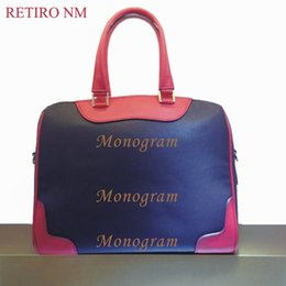 Wholesale designer handbags high quality New RETIRO genuine leather bag for women Free hot stamping name initials