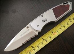 OEM WINCHESTER DMF Folder 5Cr13Mov steel Satin Serrated Wedge EDC pocket Folding blade knife knives new in original box
