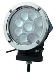 High lumen New 45W dc 12v 24V rectangular CREE LED Work Light 6500K 4x4 ATV Tractor Flood&spot Beam
