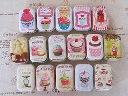 Wholesale mini cute boxes Tin pure color boxes Sweet box wedding candy box wedding favors mini case