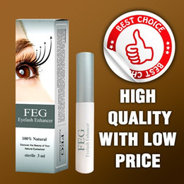 Wholesale 100 GMP SGS Validation days grow FEG eyelash enhancer with tradition Eyelash Growth Serum FEG Micro molecule Tech Real FEG Originality