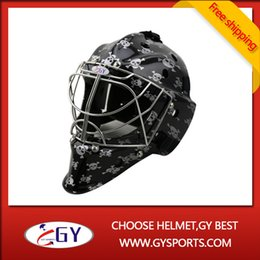 Wholesale newest Fashionable Hockey goalie helmet with skull out shell