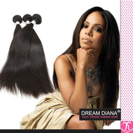 Peruvian Straight Hair 3 Bundles Unprocessed Human Hair Weave Peruvian Virgin Hair Straight Can Dyed Human Hair Extensions Ddiana hair