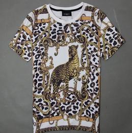 Wholesale Leopard Print Mens Tees - w1216 2015 Unisex t shirt women mens t-shirt shirt t shirts camisetas tshirt swag hip hop Leopard strawberry flower emoji print tee