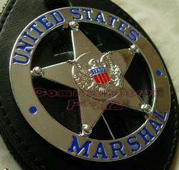Wholesale 2016 Real Ussr German Medal Badge Russian Military Uniform Souvenirs United States Marshal Us Marshals Metal Badge