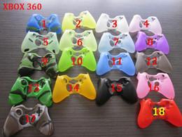 Contrôleur ps4 couvercle du boîtier en Ligne-Colorful gamepad Soft Silicone Gel Housse en caoutchouc Case Grip Cover pour Xbox One Xbox 360 PS3 PS4 Wireless Controller Livraison gratuite