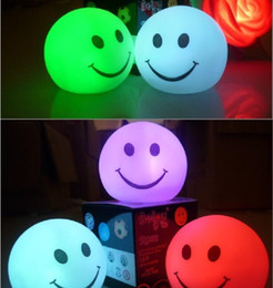 LED Smile Face Light Night Light colorido rostro sonriente