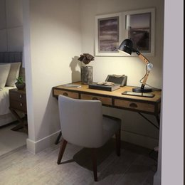 Wholesale kc lighting industry retro loft bedroom study desk lamp creative personality vertical learning to read simple table lamp