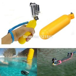 Yellow Water Floating Hand Grip Handle Mount Float Accessory for Gopro Hero 4 3+ 3 2 Go pro Camera Sj4000 5000 xiaomi yi camera