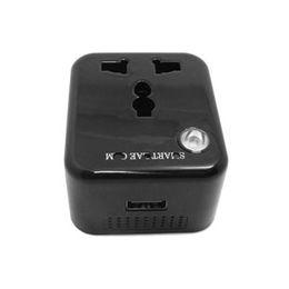 Mini cámaras wi fi en venta-H.264 720P WiFi IP USB cargador de alimentación adaptador de cámara oculta Mini videocámara, adaptador DVR Cam inalámbrica P2P de control remoto Wi-Fi Live View