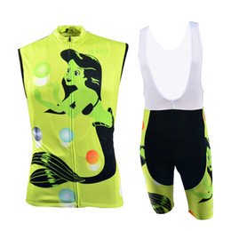 BXIO Sport Jerseys Anti Piling Cycling Clothing Bike Riding Clothes Summer Cheap Sleeveless Cycle Kits BX-0309G-019