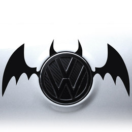 Wholesale Car Rear Log Decoration Bat Wings Stickers For All cars All Car Toyota BMW Volkswagen Ford Buick Porsche Polo Opel