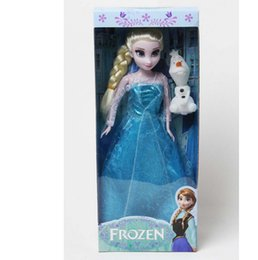 Frozen Princess 11.5 Inch Frozen Doll Frozen Elsa and Anna Frozen Toys Good Girl Gift Girl Doll in boxa Classic Toys Frozen Toys Dolls in bo