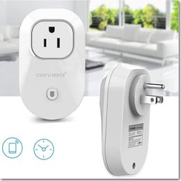Wholesale Smart Wifi Socket Wall Charger US Plug Cell Phone Power Socket Wireless Timer Switch Remote Control Home Appliance Automation