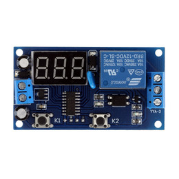 Wholesale New Upgrades Switch Control relais Cycle Timer Multifunction Delay Time Module V Time Delay Relay E1023