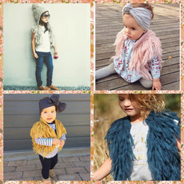 Wholesale New Arrival Babies Children Tassels Cardigans Knitting Vests Candy Color Casual Sweaters Cute Boys Girls Stylish Jackets outwears