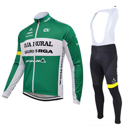 CAJA RURAL 2015 cycling jerseys sets long sleeve sport mountain bike cycling clothing mtb bicycle cycling clothes China cycle kits