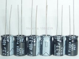 Wholesale uF V RUBYCON BXA x11 mm High Ripple Current Long Life V2 uF Aluminum Electrolytic Capacitors