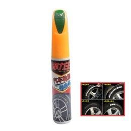 Wholesale Car Paint Pen Car Auto Vehicle Tire Silver Tone Marking Paint Pen Green Painting Pens
