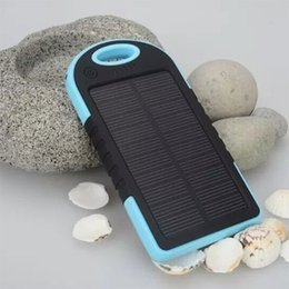 Wholesale do dropshipping hotselling mAh Cargador Portatil Solar Power Bateria Pack Energy Bank Sun Battery Charger Powerbank