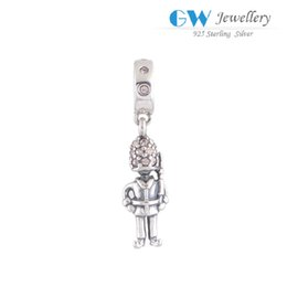 Wholesale Fireman hat charms beads dangles fits bracelet and necklaces jewelry European style hot sale S87I6