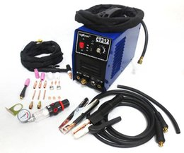 Wholesale CUT Multi Functional TIG MMA Air Plasma Cutter Inverter Welder In Drop shipping OVS GDJ
