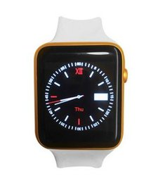 Wholesale 2015 Bluetooth Smart Watch MTK502C Clock Heart Rate Health Fitness Measure Wearable Device with GSM GPRS for Smartphone Iwatch