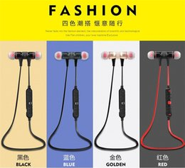 Wholesale 2015 Original Awei A920BL in Ear Bluetooth Wireless Earphones Stereo Music Headsets with Magnet Attraction Design