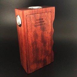 Wholesale 2015 Top Quality APC V2 box mod Dual wood mod suit for all kinds of rda huge vapor churchill