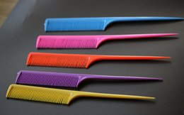200 pic lot Free Shipping Professional Salon Cutting Comb. Hard Plastic Combs. Sharp Point End